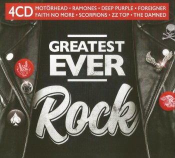 VA - Greatest Ever: Rock [4CD] (2020) MP3